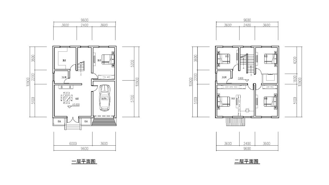 农村两层100平方楼房造价五万图片大全