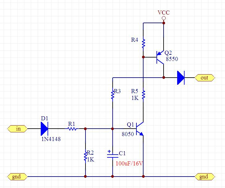 利用三极管或芯片搭自锁电路