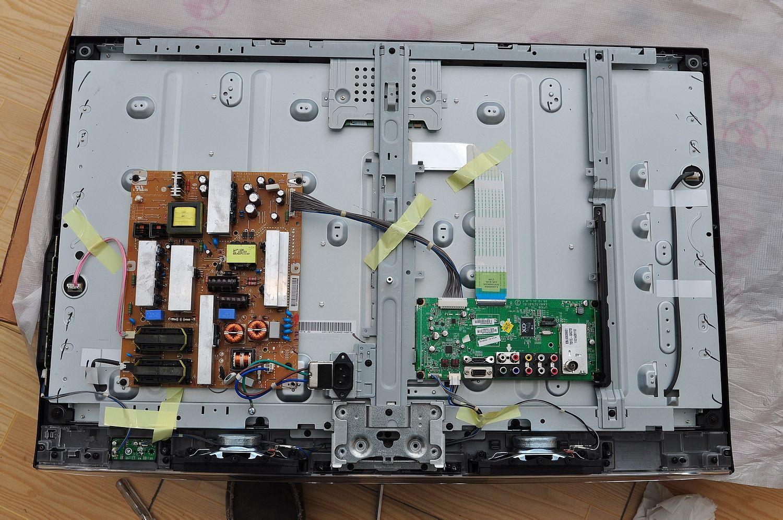lg32ld325c-ca液晶电视不能开机,如何判断电源板,主板