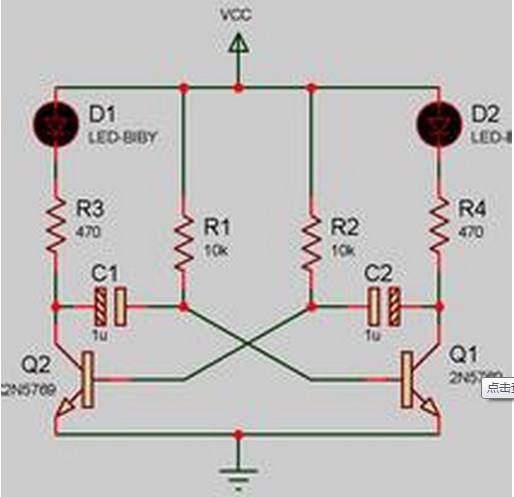 谁能提供张rc振荡电路的电路图啊