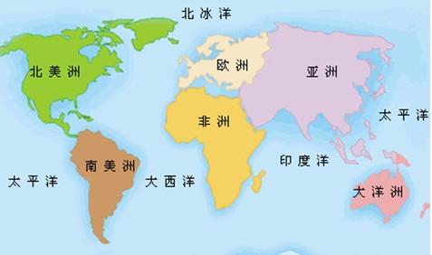 亚洲政区图手绘简单