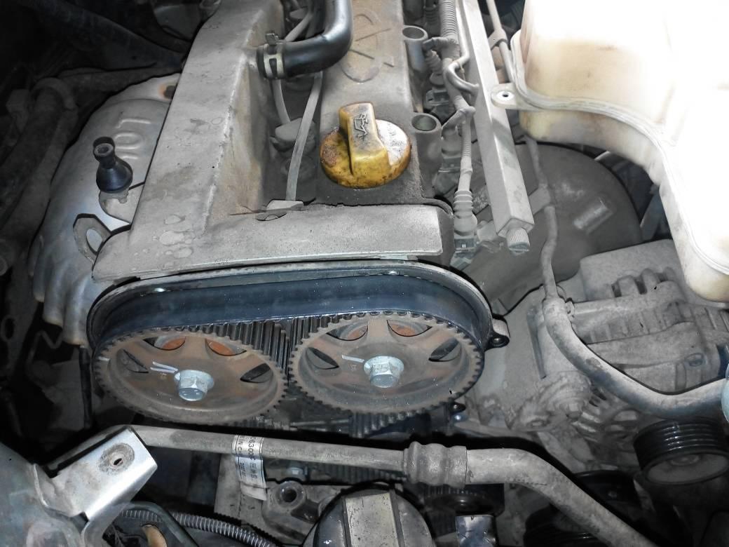奇瑞发动机型号sar484f的正时皮带怎么安装的?有没有图看一下的