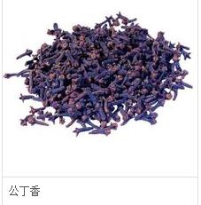 公丁香:为桃金娘科常绿乔木植物eugenia caryophyllata thunb的花蕾