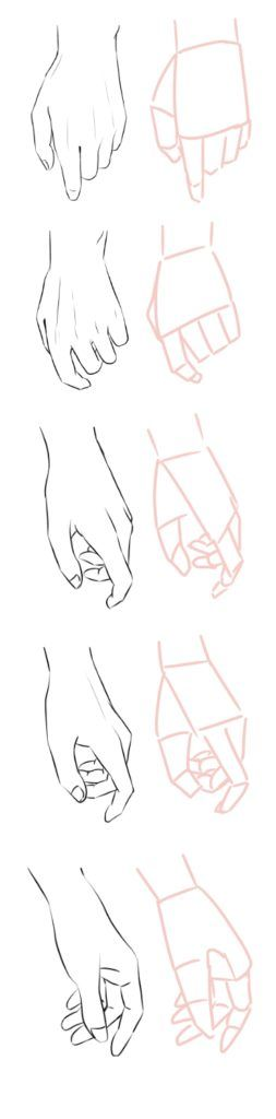 如何画漫画人物的手,如何画漫画人物的侧脸