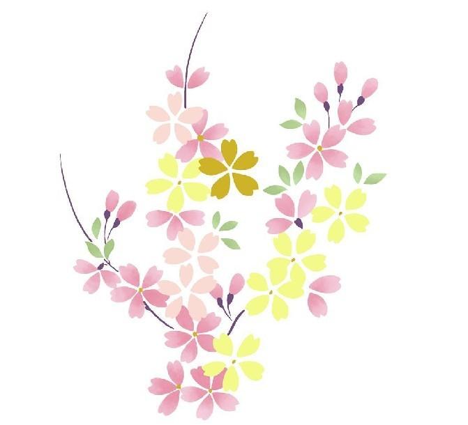 动漫里的手绘樱花图片