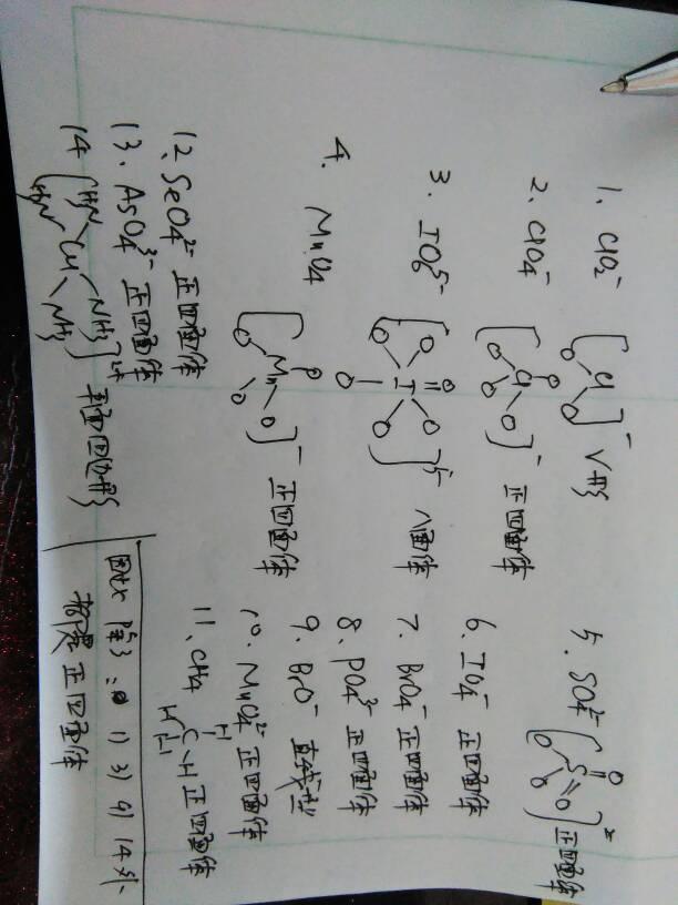 亚氯酸根离子 2.高图片