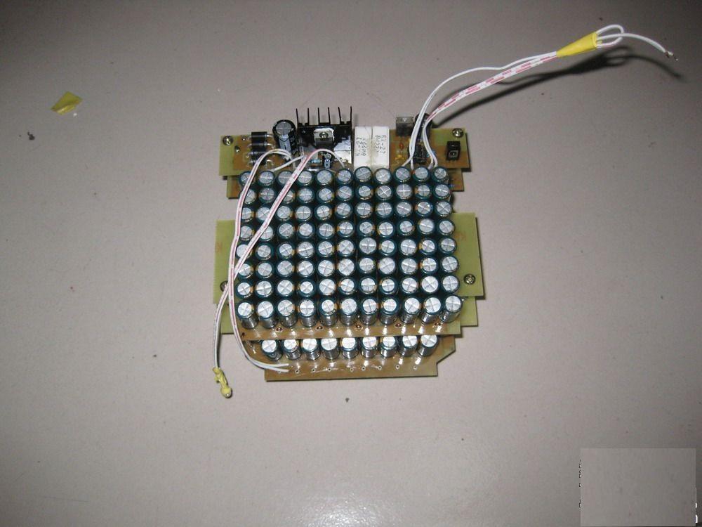 怎样diy自制电容点焊机点焊机
