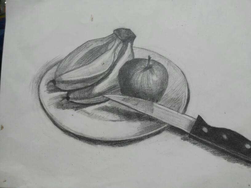 求一些简单的素描画.