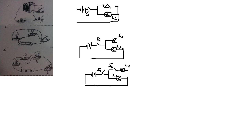 物理高手来,根据实物图画出电路图