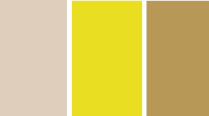 黄色色中色_黄色和米色还有卡其色一样的吗?