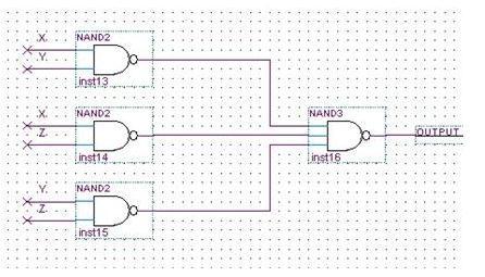 用与非门设计三人表决器,画出可实现电路图,逻辑电路图不用画了,拍