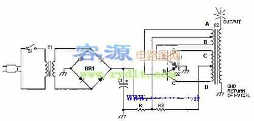 半桥是由两个功率放大管和两个电容构成的功率放大电路,效果比单管