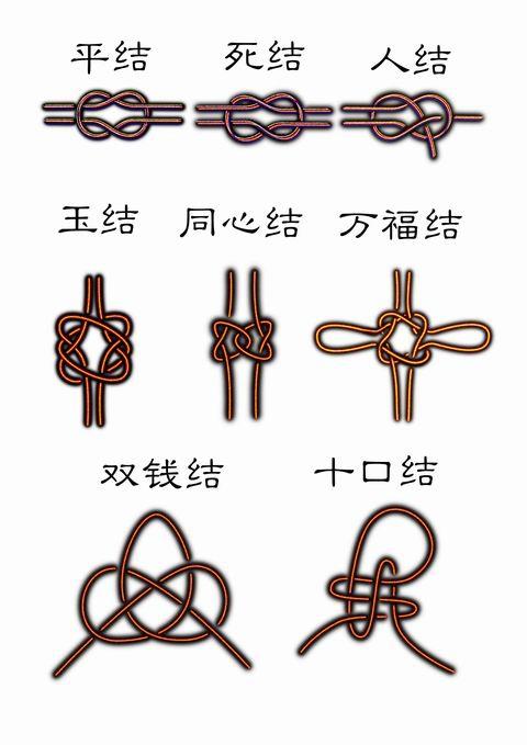 如何diy绳结编织方法图解