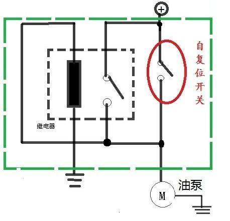 这个电路对开关及继电器的电流有什么要求吗?如果把自.