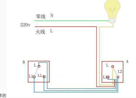 双开单联接线图