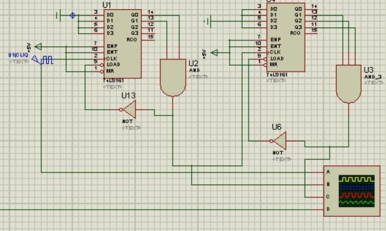 用74ls74设计的二分频,四分频电路图有哪些?