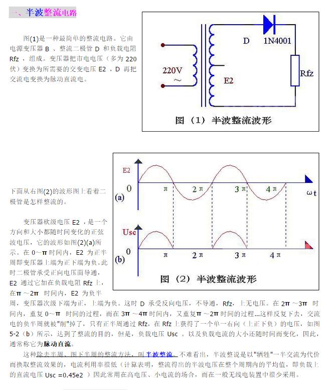 根据波形图说明桥式整流电路是全波整流还是半波整流?