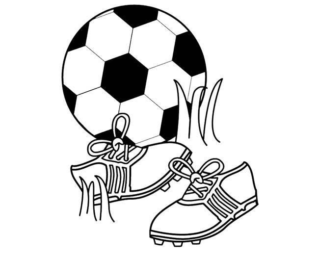 足球鞋简笔画图片
