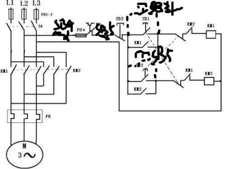 求两台电动机互锁图电路(急!