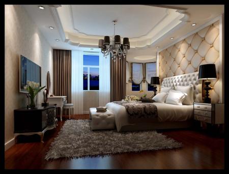 农村客厅装修和卧室效果图!哪里有?客厅两间房,卧室一
