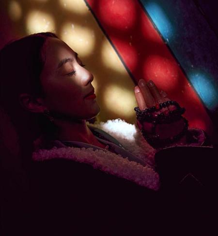 藏族情侣头像一对两张