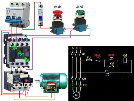 三相电机怎么接线图解 380v三相电机接线图