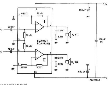 求最简单音频功放电路图