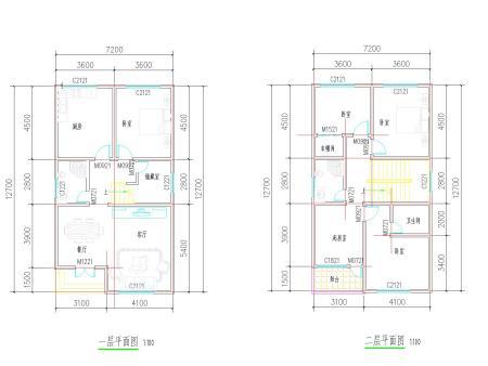 农村房屋自建平面图图片