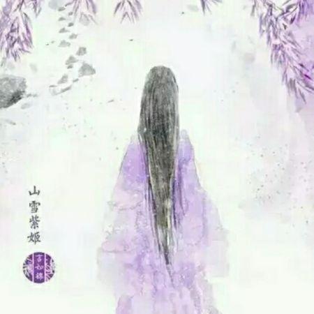 求手绘紫衣古代美女图(清晰点,长得好看点),做小说封面的