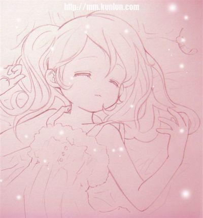 帮我找一张动漫睡觉的图片 注意一定要睡着的可爱的一