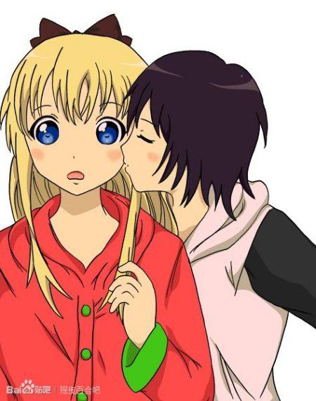 男生拉手腕强吻动漫图片
