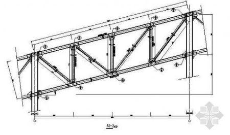 30米跨度钢结构应该用什么结构的梁,最好有大样图