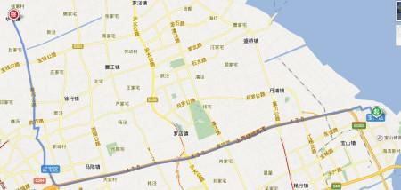 华亭镇北侧就是唐行