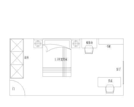5米x12米长方形设计图
