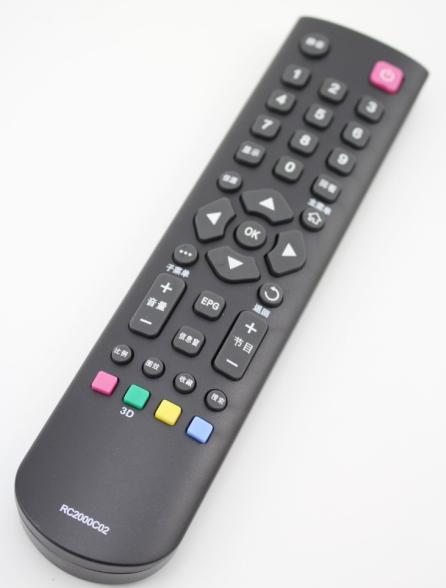 tcl液晶电视机l32j3210原装遥控器型号:  rc2000c02