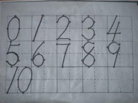 幼儿学习认读和书写数字能巩固对10以内数的认识,提高对数抽象性的