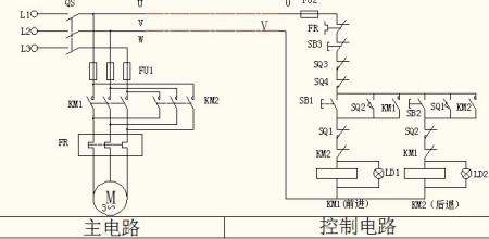 三菱fx2nplc全自动洗衣机正反转电机传动图