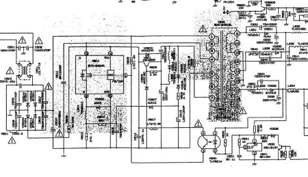长虹pf2598(a)开关电源电路图,速求