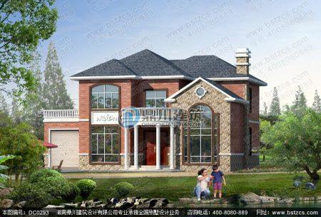 求农村2层小别墅设计图有车库,东西长15米南北长10米急用.