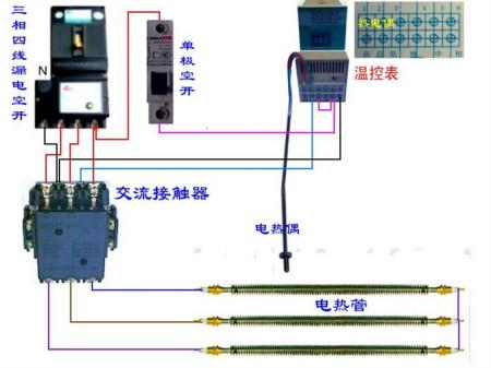 380v加热器18根加热管24kw功率怎么接线?12kw怎么接线
