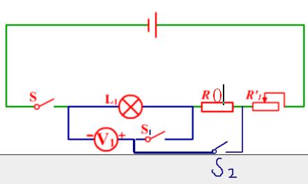 2, a 按照电路图连接好实物 b滑片p调节至最大阻值处  c闭合开关s和