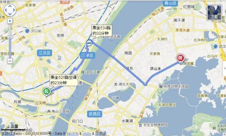 汉正街到武汉欢乐谷大概要多久图片