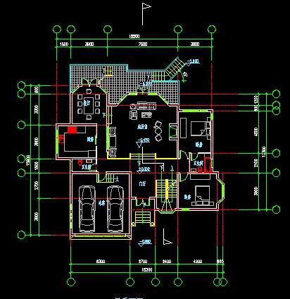 跪求房屋设计图.面职长10.05米.宽9.03米.要求一楼2间