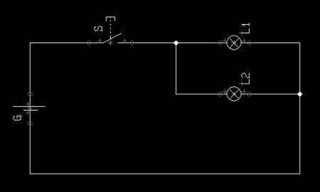 并联电路怎样画电路图