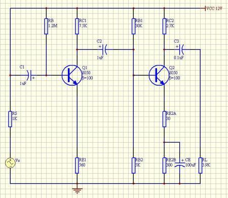 三极管高频放大电路