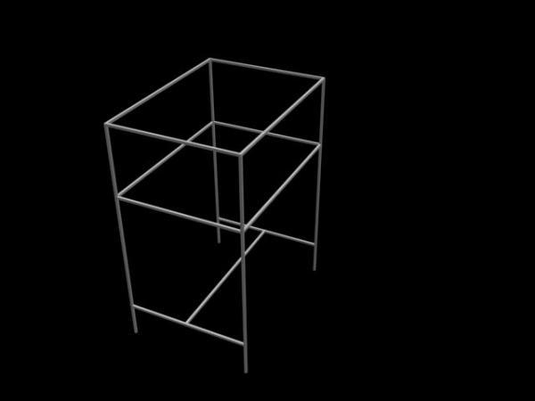 用CAD画备份铁架子?(图)cad没有在丢失方管图纸图片