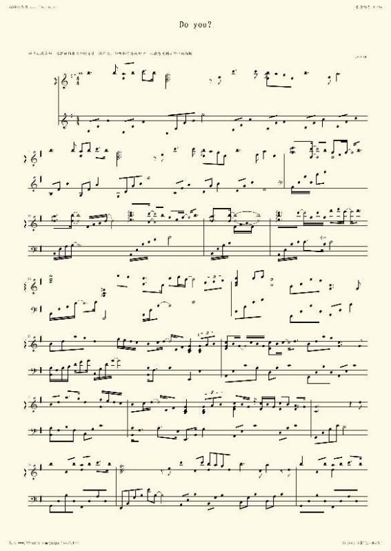 丽丝钢琴曲简谱单手