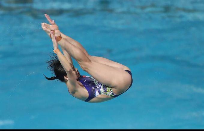 跳水运动员郭晶晶的运动生涯是怎样的?图片