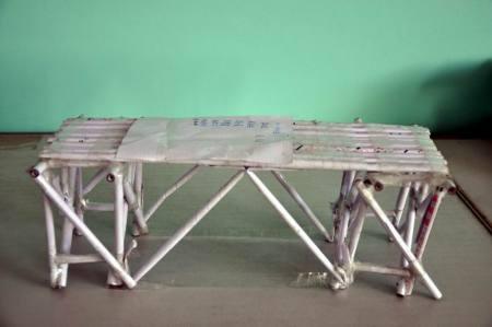 纸桥承重设计图图片