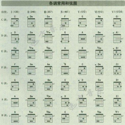 吉他初学者按和弦大概多久才不会手疼?图片